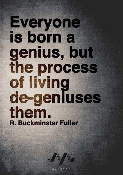 R. Buckminster Fuller - Genius