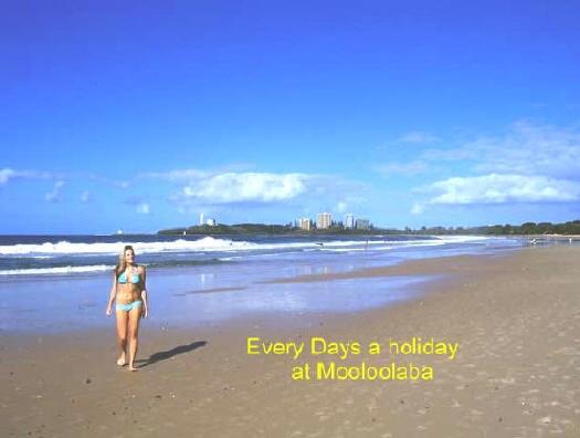 Sunshine Coast Australia, great beach for a walk #airnzsunshine