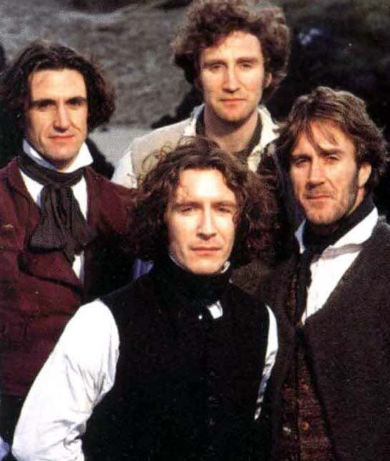 """""""The Hanging Gale (a.k.a., Paul McGann and his brothers got together and made a movie) Found this series on Daily Motion. Very good, very sad."""" I think I'll check this out."""