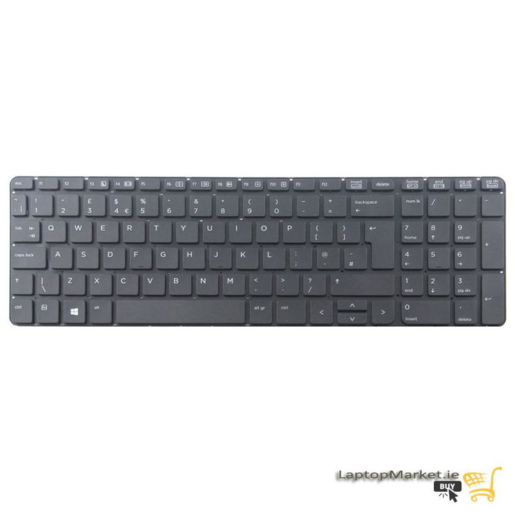 New Genuine HP Probook 450 G0 G1 G2 Series UK Keyboard Without Frame