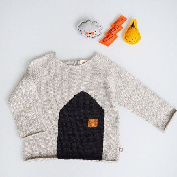 House sweater by Oeuf - Orfeo Design