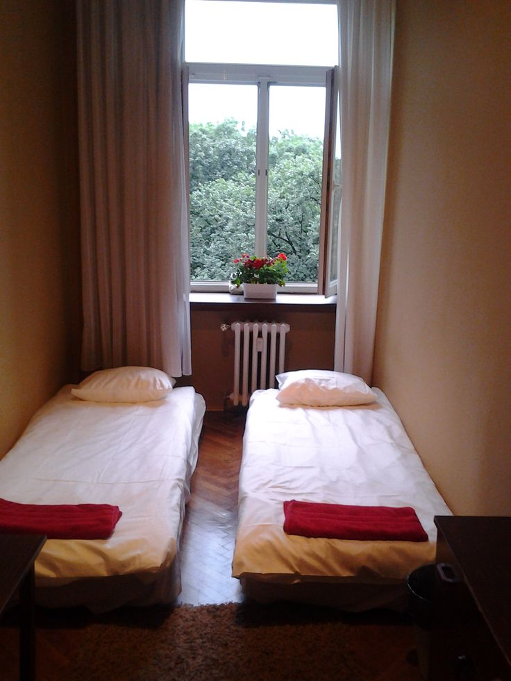 Double bed can be also changed in  singles