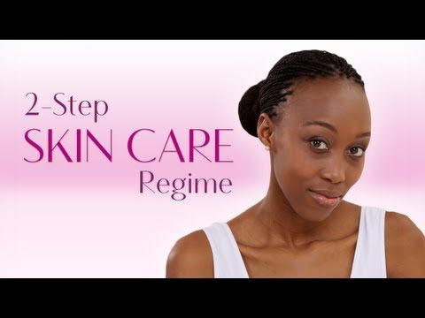 Our 2-Step Skin Care Regime. Making skin care  easy for you.  Watch and Repin.