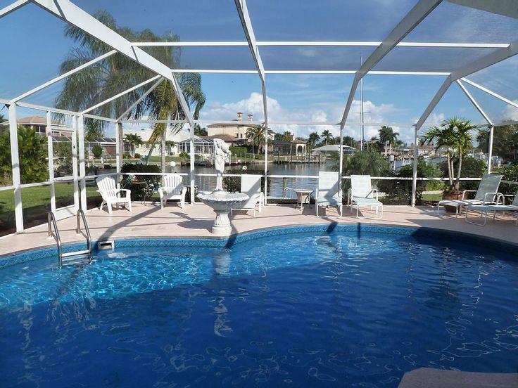 Beautiful direct sailboat access heated pool with lanai
