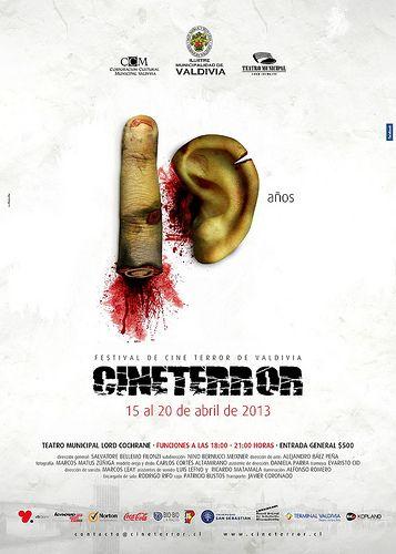 Afiche Festival de cine terror 2013