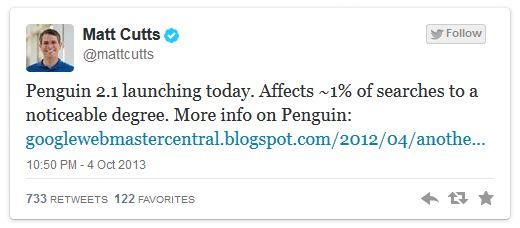 Un nou update pentru Penguin - Penguin 2.1