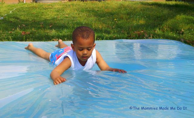 A giant water squishy for the backyard!