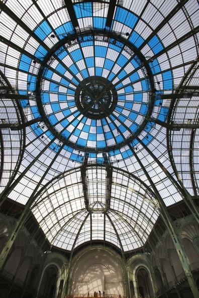 Daniel Buren Unveils 'in situ' Artwork At Monumenta