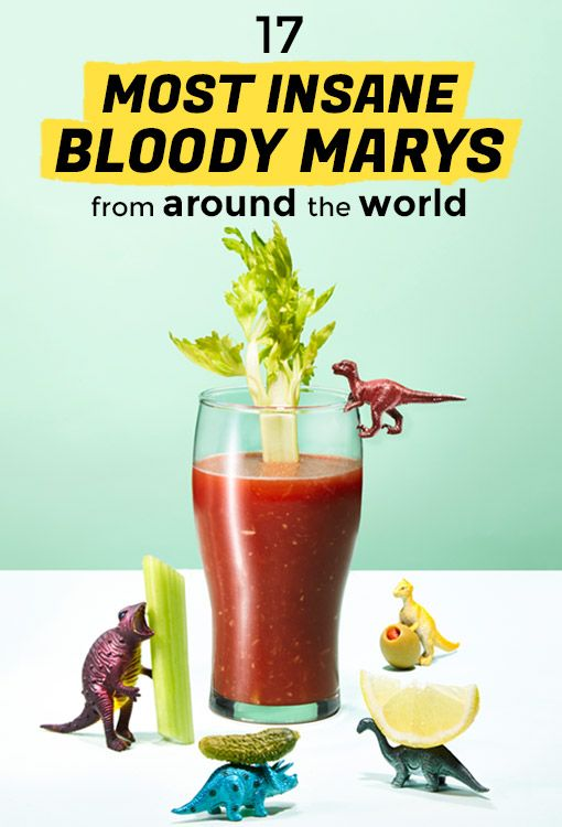 17 Most Insane Bloody Marys from Around the World