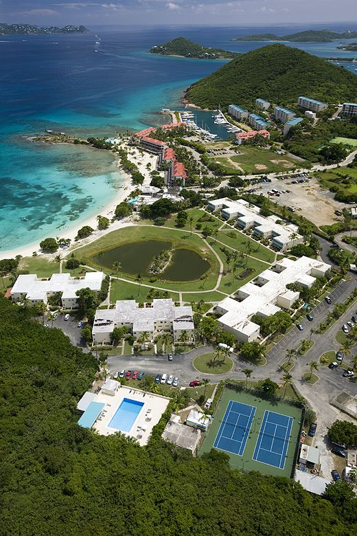 Crystal Cove resort in St. Thomas - Starts at 150/nt. Good reviews.