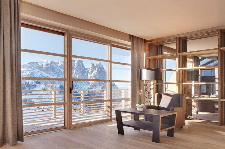 Alpe di Siusi, Hotel Alpina Dolomites