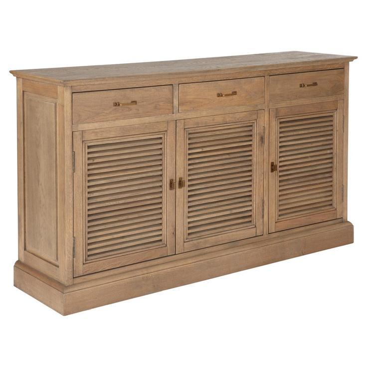Mistral Wooden Sideboard - Weathered Oak #OKA #Furniture #Design