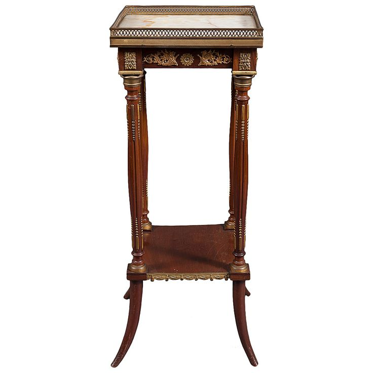 An Early 19th Century French Louis XV Style Gilt Bronze-Mounted Side Table