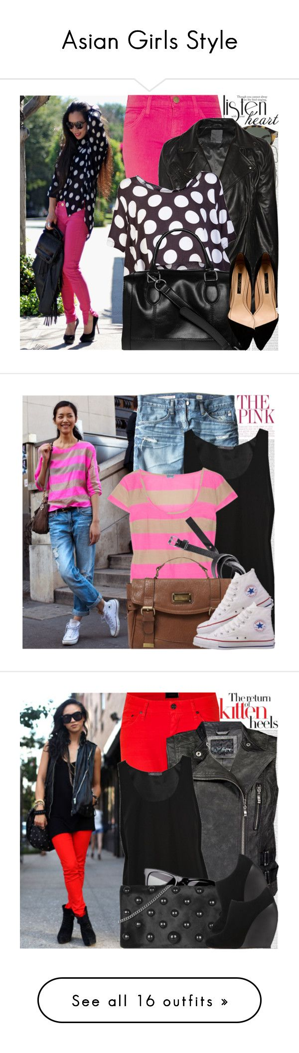 """""""Asian Girls Style"""" by amber-nicki-rose ❤ liked on Polyvore featuring Oris, Pablo, Karen Walker, Current/Elliott, Lot78, Otis & Maclain, Zara, Dorothy Perkins, AG Adriano Goldschmied and Vince"""