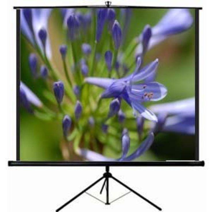 Portable Projector Screen 84 Inch HD Projection Folding Stand Aluminum Tripod #VIVO #portableprojectorscreen