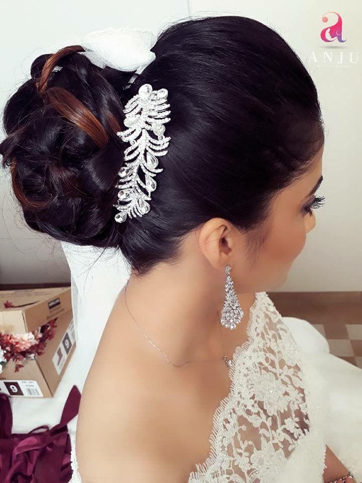 Elegant Hair Updo For Christian Bride Elegant Hairstyles Christian Bride Hair Updos