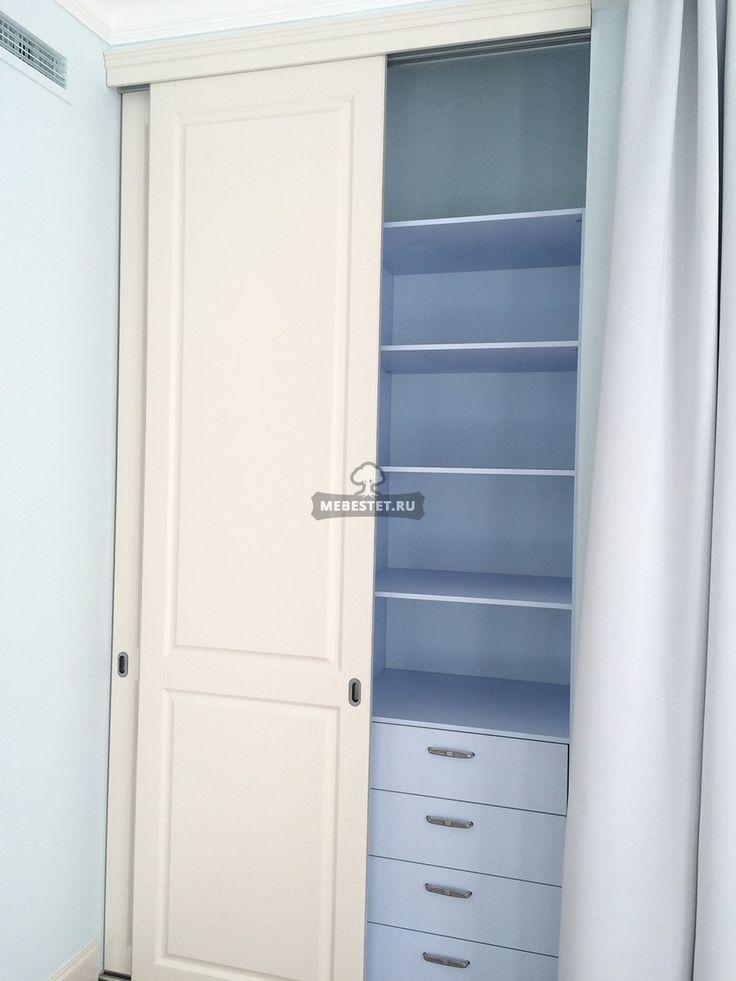 Встроенный шкаф-купе в классическом стиле / Меб Эстет