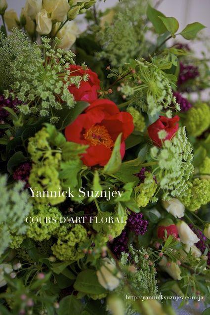 フラワーレッスン(ガーデンブーケ)|Parisian Florist Yannick Suznjev