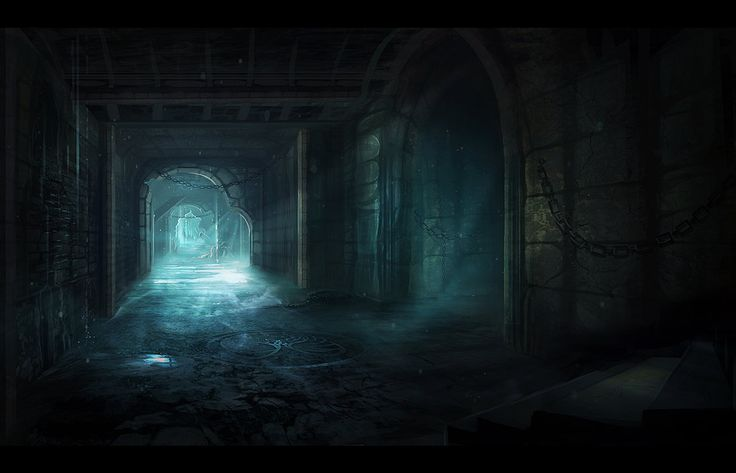 Dungeon Passage by nilTrace on deviantART