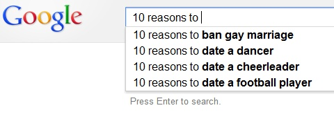 Top 15 Funny Google Search Suggestions