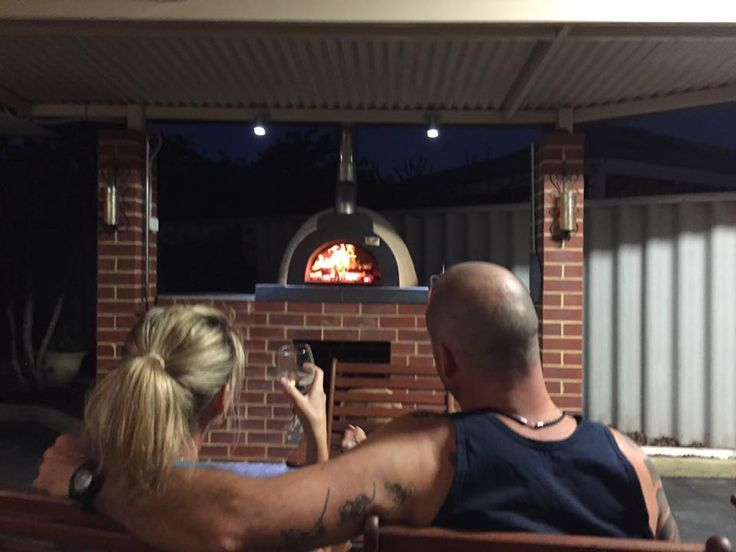 "We've just smashed out 4 pizzas and a tray of prawns for prawn cocktails, now just enjoying a drink in front of the fire. Love our pizza oven. Thanks guys"" Thank you Lynsey Rotham, from Perth, WA, for your great pic and fantastic feedback :)"