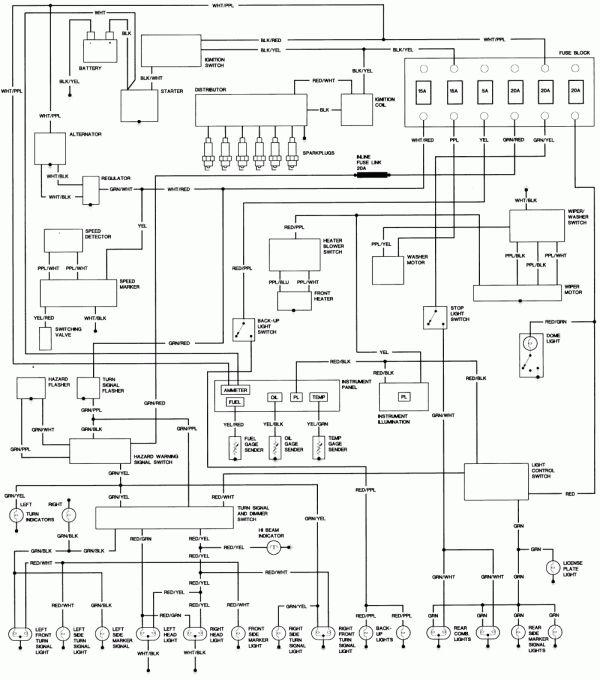 15 99 Toyota 4runner Electrical Wiring Diagram Wiring Diagram Wiringg Net Toyota Hilux Toyota Toyota Camry