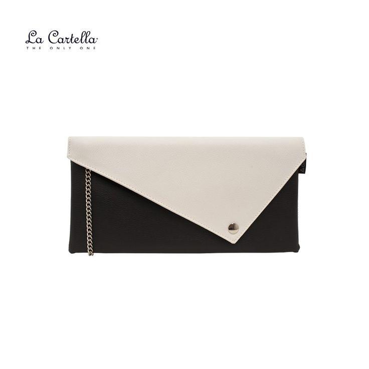 La Pochette Black and White #lacartella #knob_design