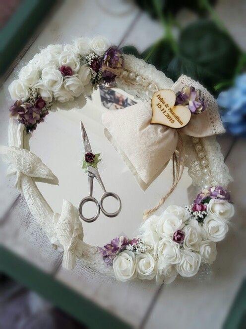 Nişan Tepsisi /Vintage /Rustic /Burlap / Wedding /Engagement  İletişim: atolye.sandalagaci@gmail.com