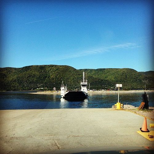 Waiting for the #englishtown #ferry #capebreton...