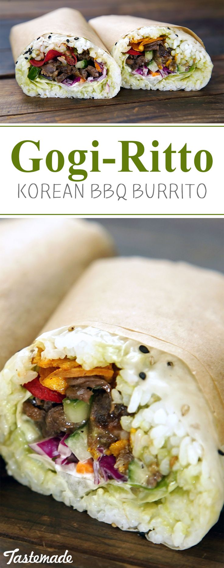 What happens when you combine sushi, Korean BBQ and a burrito? Here's a hint, it's magical.