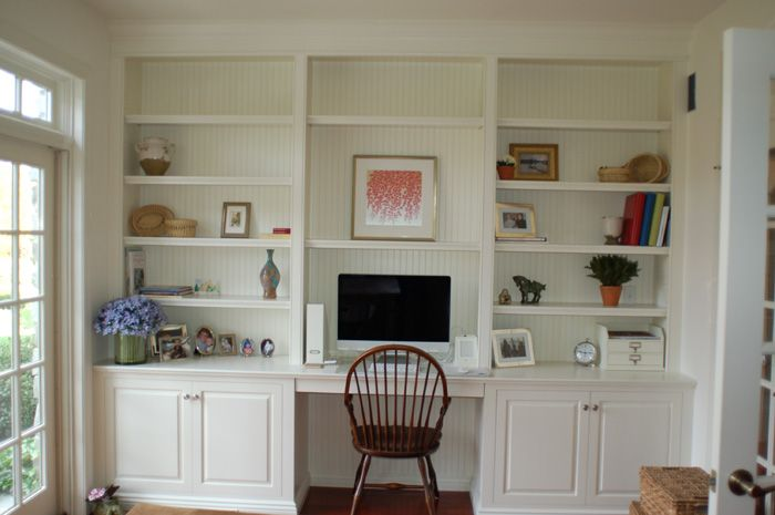 Custom Wall Unit Bookcases - Artisan Custom Bookcases
