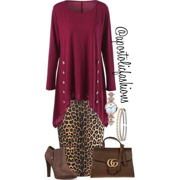 Apostolic Fashions #1655 by apostolicfashions on Polyvore featuring Yoek, Nine West, Gucci, Emporio Armani and Charlotte Russe