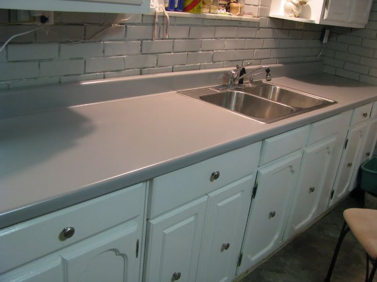 Rustoleum Countertop Paint On Wood : Rustoleum Countertop on Pinterest Resurface countertops, Countertop ...