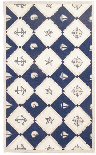 nautical design area rugs rug for nursery navy blue anchors white