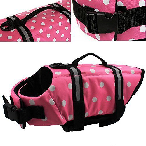 OurWarm Wave Pet Dog Life Jacket Doggy Life Vest CoatPet Dog Saver Life Vest Coat Flotation Float Life Jacket Pink Large Size - http://www.thepuppy.org/ourwarm-wave-pet-dog-life-jacket-doggy-life-vest-coatpet-dog-saver-life-vest-coat-flotation-float-life-jacket-pink-large-size/