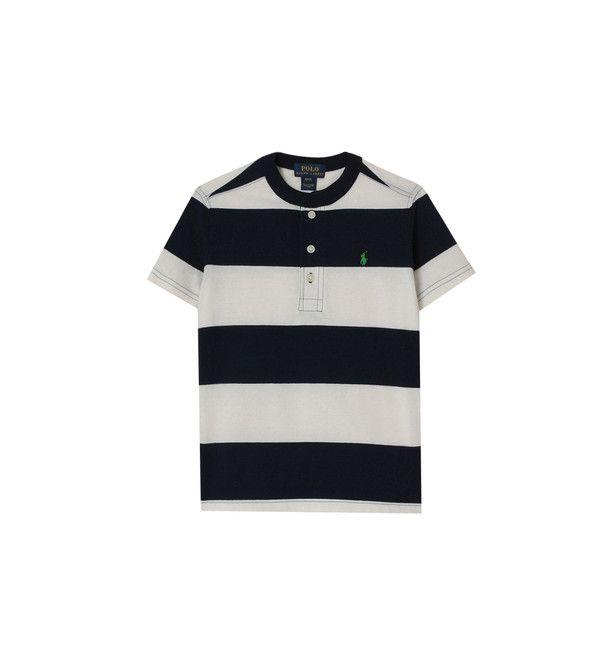 T-shirt droit à rayures