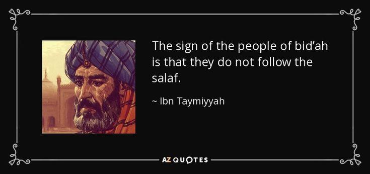 Ibn Taymiyyah Quote