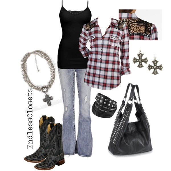 17 best images about clothes on pinterest brown belt for Country girl flannel shirts
