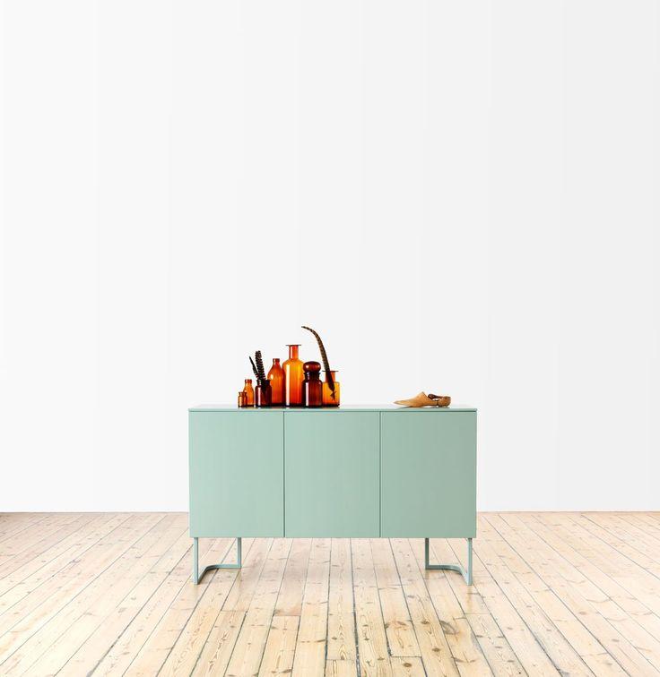 Arctic Jubileum Sideboard design Rolf Fransson   Voice   Länna Möbler   Handla online #storage #green #sideboard #rolffransson