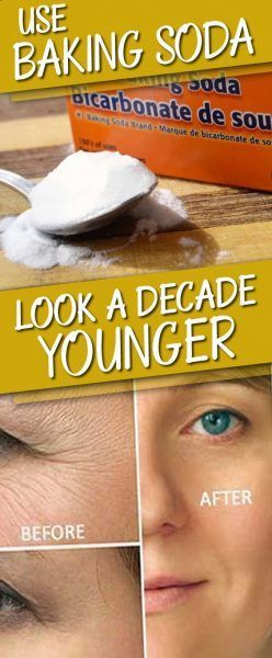 Use Baking Soda This Way to Look a Decade Younger in Just a Few Minutes – Healthy Tips Help