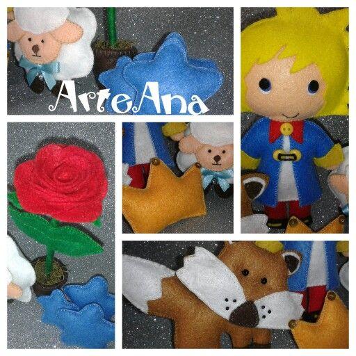 Ovelha, raposa, rosa e pequeno príncipe