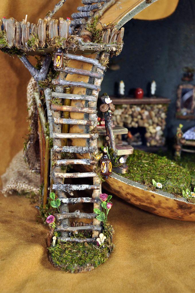 722 Best Fairy House Ideas Images On Pinterest Fairies Garden
