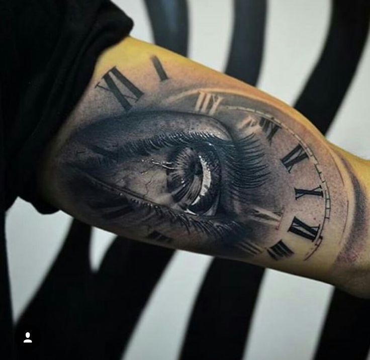 Eye And Multiple Clock Tattoo: 17 Best Ideas About Men Sleeve Tattoos On Pinterest