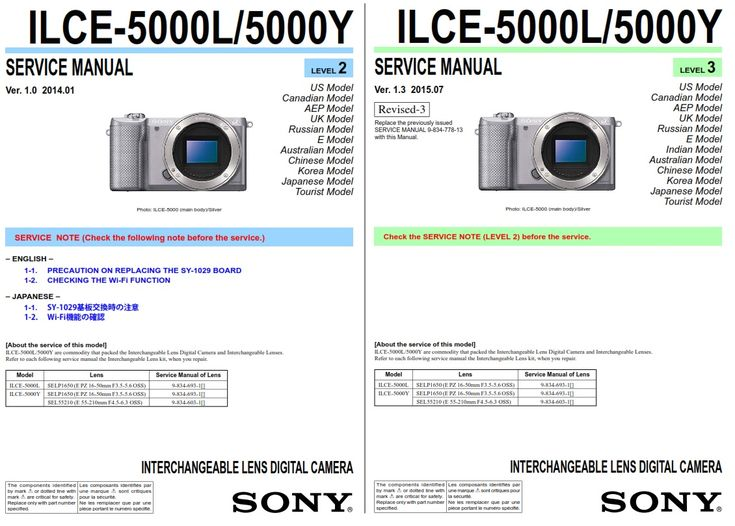 Original And Complete Alpha A5000 Ilce