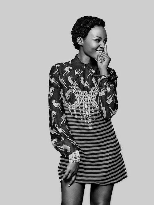 sleekbw:    Lupita Nyongo photographed by Pamela Hanson for...