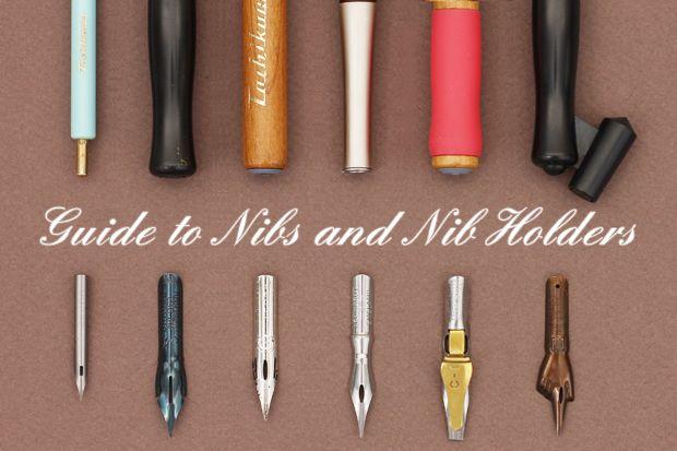 Guide+to+Nibs+and+Nib+Holders @nathie  hagamos caligrafía juntas siiiii??? animate!!!! tienes todo!....