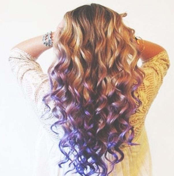 74 Best Dip Dye Hair Images On Pinterest Colourful Hair Coloured
