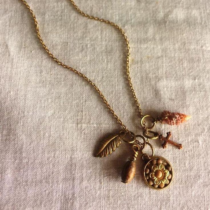 "13 Likes, 1 Comments - Nostalgems (@nostalgems) on Instagram: ""My fave materials from nature - wood, shells, mustard seeds! #nostalgems #jewellery #jewellerynz"""