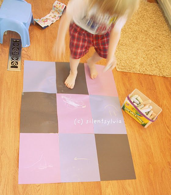 "indoor ""sidewalk"" chalk  for when it's too hot outside #crayonfreckles: Chalk Fun, Chalk Ideas, Chalk Activities, Indoor Activities, Indoor Sidewalks, Chalk Crayonfreckl, Preschool Ideas, Sidewalks Chalk, Terrif Ideas"