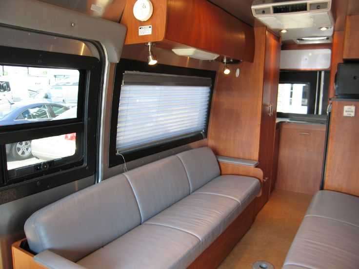 2007 Interstate 22 | Earl Grey Ultra-leather & cherry wood | Colonial Airstream